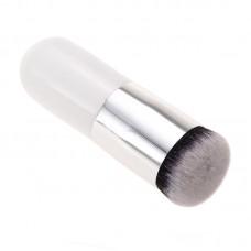 Кисть косметическая White flat  4.2  для  растушевки тонального или ВВ-крема