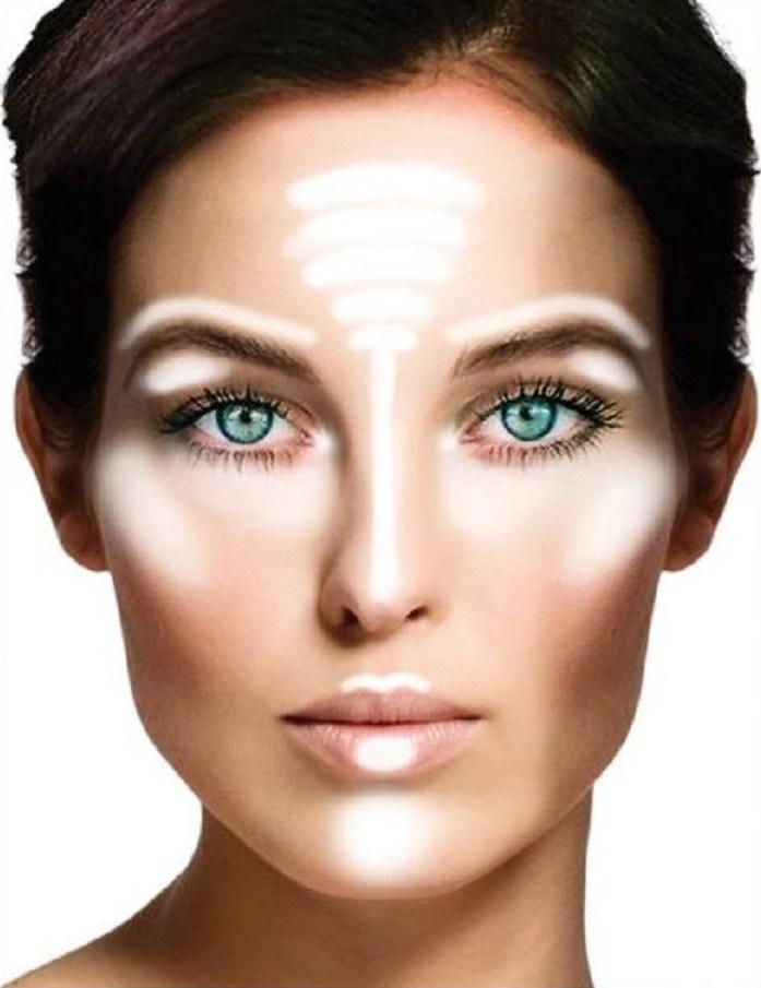Правильно нанесение макияжа
